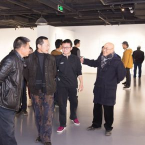 "16 Installation view of the exhibition 290x290 - A Series of Exhibition of Teaching, Creating and Researching: ""Blue Mountains and Ink Shoes – Exhibition of Sketching in Dali, Yunnan"" Opened"
