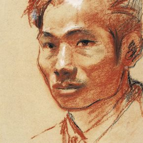 25-qin-xuanfu-portrait-of-wang-linyi-pastel-on-paper-39-5-x-28-cm-1945-in-the-collection-of-cafa-art-museum