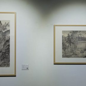 "26 The exhibited work 290x290 - A Series of Exhibition of Teaching, Creating and Researching: ""Blue Mountains and Ink Shoes – Exhibition of Sketching in Dali, Yunnan"" Opened"
