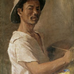 28-qin-xuanfu-wu-zuoren-s-portrait-oil-on-canvas-56-x-45-cm-1941-in-the-collection-of-nanjing-normal-university