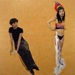 28-yu-hong-we-both-no-2-acrylic-on-canvas-2007