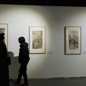 "30 The exhibited work 290x290 - A Series of Exhibition of Teaching, Creating and Researching: ""Blue Mountains and Ink Shoes – Exhibition of Sketching in Dali, Yunnan"" Opened"