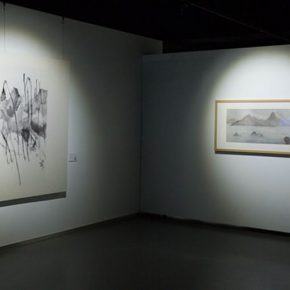"31 The exhibited work 290x290 - A Series of Exhibition of Teaching, Creating and Researching: ""Blue Mountains and Ink Shoes – Exhibition of Sketching in Dali, Yunnan"" Opened"