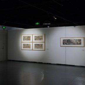 "32 The exhibited work 290x290 - A Series of Exhibition of Teaching, Creating and Researching: ""Blue Mountains and Ink Shoes – Exhibition of Sketching in Dali, Yunnan"" Opened"