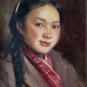 68 Qin Xuanfu Ningsheng's Portrait oil on canvas 46.5 x 36.5 cm 1959 290x290 - Qin Xuanfu