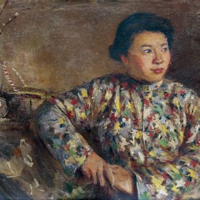 71 Qin Xuanfu Jing Sheng's Portrait oil on canvas 54 × 60 cm 1959 290x290 - Qin Xuanfu