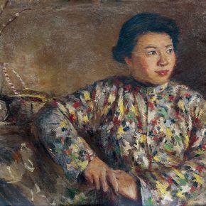 71-qin-xuanfu-jing-shengs-portrait-oil-on-canvas-54-x-60-cm-1959