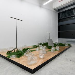 """Installation View of GLASS INTESTINE 03 290x290 - Shanghai Museum of Glass presents """"ANNEALING   GLASS INTESTINE"""" featuring the work by Yang Xinguang"""