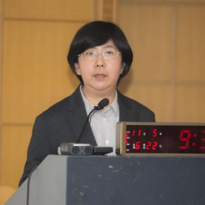 """01 Prof. Zhang Peng hosted the first session 290x290 - Creating New Opportunities of Mutual Cultural Learning and Communication – """"New Knowledge of Buddhist Art in Central Asia"""""""
