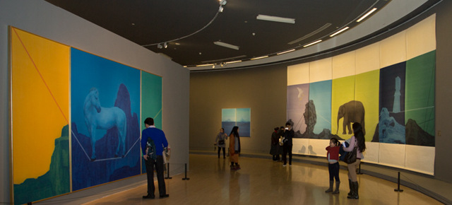 """""""Hue Art in the Contemporary Era"""" Opened: To Explore the Multiple Dimensions of Chinese Painting"""