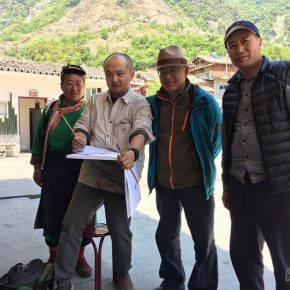 02-the-long-march-of-art-team-of-the-school-of-chinese-painting-cafa-sketched-in-jiajin-mountain