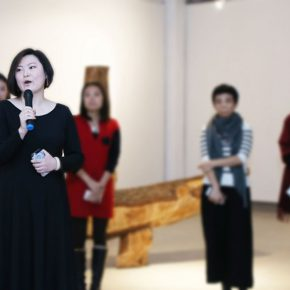 "02 Curator Liang Shuang 290x290 - ""Feminine Power: New Perspective"" Opened at Daqian Contemporary Art Center"