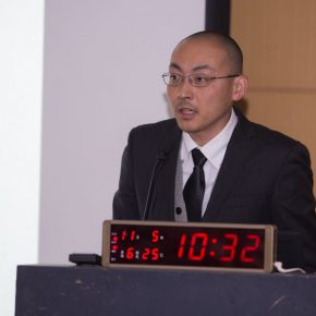 """04 Shunpei Iwai gave a lecture 290x290 - Creating New Opportunities of Mutual Cultural Learning and Communication – """"New Knowledge of Buddhist Art in Central Asia"""""""