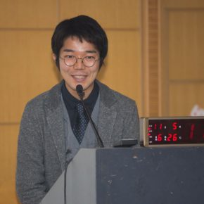 """05 Satoshi Naiki gave a lecture 290x290 - Creating New Opportunities of Mutual Cultural Learning and Communication – """"New Knowledge of Buddhist Art in Central Asia"""""""