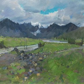 07 Fan Di'an The Road Where the Red Army Walked oil painting 200 × 300 cm 2016 290x290 - Song Xiaoxia: Contemporary Transformation of the Organizational Mechanism of the College Art Creation