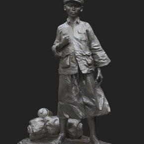 14 Wang Shaojun and Li Boyong My Long March copper 110 × 100 × 50 cm 2016 290x290 - Song Xiaoxia: Contemporary Transformation of the Organizational Mechanism of the College Art Creation
