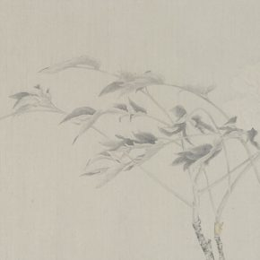 Gao Qian Jade Crossing Branch No. 1 2015 Ink and color on paper 41×131cm 290x290 - Herb Garden: Duo Exhibition of Gao Qian and Zhang Yanzi was unveiled in Shanghai
