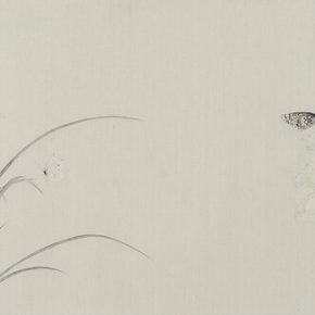 Gao Qian Jade Crossing Branch No. 2 2015 Ink and color on paper 41×131cm 290x290 - Herb Garden: Duo Exhibition of Gao Qian and Zhang Yanzi was unveiled in Shanghai
