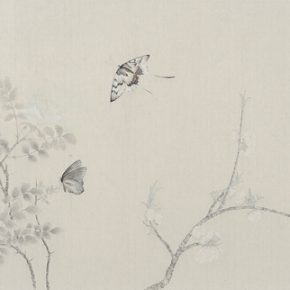 Gao Qian Jade Crossing Branch No. 3 2015 Ink and color on paper 41×131cm 290x290 - Herb Garden: Duo Exhibition of Gao Qian and Zhang Yanzi was unveiled in Shanghai