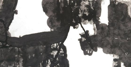Wang Chuan, Jungle, 177 x 96cm, Ink on Paper, 1995