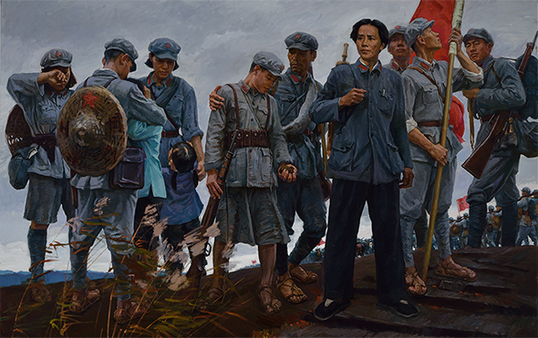 Wang Hanying, Farewell to the Soviet Area