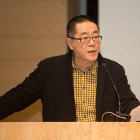 01 Director of CAFA Art Museum Wang Huangsheng hosted the lecture 290x290 - Liu Xiaodong + Zhang Ga: A Conversation on Experiments in Art and Technology