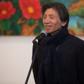 01 Fan Di'an, President of the Central Academy of Fine Arts, addressed at the opening ceremony