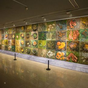 """02 """"Recipes of the Long March"""" the creation by the Department of Fundamental Education for Plastic Arts CAFA 290x290 - Long March of Art: Contemporary Multiple Artistic Context, What is the Thematic Creation?"""