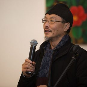 "02 Prof. Lv Shengzhong spoke at the opening ceremony 290x290 - ""Reciprocal Enlightenment"" – The Third Experimental Art Exhibition was unveiled"