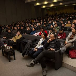 06 View of the lecture 290x290 - Liu Xiaodong + Zhang Ga: A Conversation on Experiments in Art and Technology
