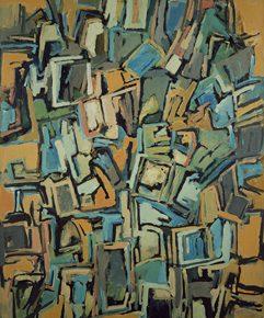 07 Work B.125, 1956, Utsunomiya Museum of Art