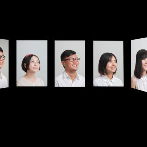 "10 Guangzhou Academy of Fine Arts Feng Feng Keep Smiling multi screen images since 2013 to today 290x290 - ""Reciprocal Enlightenment"" – The Third Experimental Art Exhibition was unveiled"