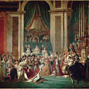 17 Jacques Louis David Coronation of Empress Josephine by Napoleon I oil on canvas 610 × 931 cm 290x290 - Long March of Art: Contemporary Multiple Artistic Context, What is the Thematic Creation?