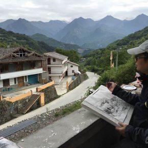 37-qiu-ting-sketched-in-jiajin-mountain
