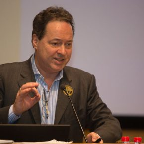 02 The speaker Prof.Joachim Pissarro from the Hunter College in New York