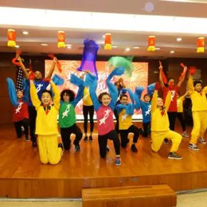 "04 Childrens Dance Ensemble performed at the Chinese Consulate General dinner 290x290 - 2017 ""Happy Chinese New Year: Fantastic Art China"" New York Events was Officially Opened"