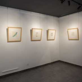 """13 Exhibition view of """"Mentality"""" 290x290 - In the Name of """"Mentality"""": """"Wang Shaojun 2016 Watercolor Art Exhibition"""" Opened at the Words of Wisdom Art Space"""