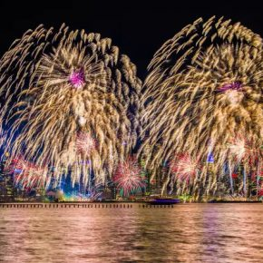 "13 The New Year themed fireworks show on Hudson River 290x290 - 2017 ""Happy Chinese New Year: Fantastic Art China"" New York Events was Officially Opened"