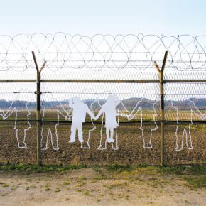 14 The Line project 290x290 - Miri Park: Building a 250-km Barbed Wire Art Wall between South Korea and North Korea