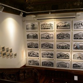 """15 Exhibition view of """"Appenzell Epic"""" in Zurich photo courtesy of Yu Hao 2013  290x290 - Qiao Xiaoguang: With Chinese Paper-Cuts I Talk About the Story of the World"""