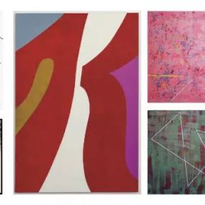 18 Part of the exhibited works of the Abstract Art in Dialogue exhibition