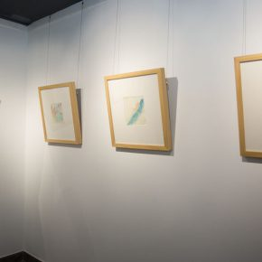 """20 Exhibition view of """"Mentality"""" 290x290 - In the Name of """"Mentality"""": """"Wang Shaojun 2016 Watercolor Art Exhibition"""" Opened at the Words of Wisdom Art Space"""