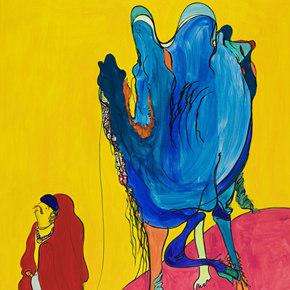 "Platform China presents Lou Shenyi's solo exhibition ""Xiang De Mei"" at 798 Art Factory"