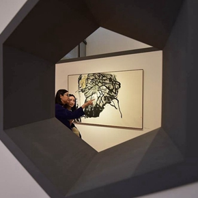 """The World of Combination: Exhibition of Work by Pan Gongkai"" Opened in Suzhou Museum"