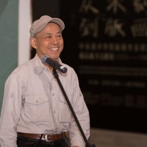 "05 Prof. Sun Jingbo from CAFA 290x290 - ""Pictured Walls"" for ""Working Hard for Prosperity"": Collective Creation of the Department of Mural Painting, CAFA"