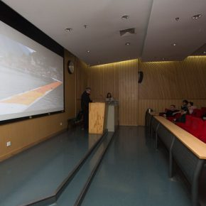 """06 View of the lecture 12 290x290 - Antoni Muntadas: """"Art Project – Working in the Process"""""""