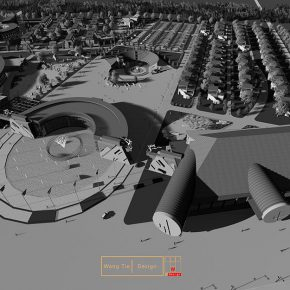 06 Wang Tie, the planning and design of Dunhuang Cultural and Creative Industry Park