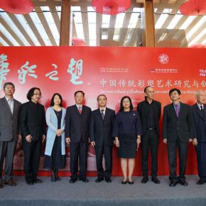 """07 Exhibition View of""""Sculpture with Chinese Color"""" 290x290 - """"Sculpture with Chinese Color"""" was successfully unveiled at the China Cultural Center in Bangkok"""
