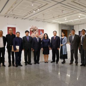 """09 Exhibition View of""""Sculpture with Chinese Color"""" 290x290 - """"Sculpture with Chinese Color"""" was successfully unveiled at the China Cultural Center in Bangkok"""