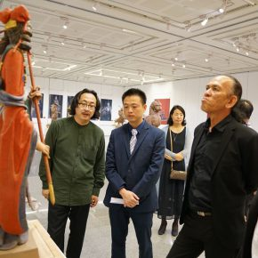"11 Exhibition View of""Sculpture with Chinese Color"""